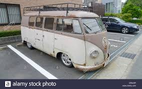 volkswagen van an old vw volkswagen van stock photo royalty free image