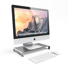 ordinateur apple de bureau pour apple macbook base du moniteur de bureau support pour
