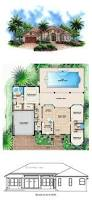 best images about florida house plans pinterest family florida style cool house plan chp total living space