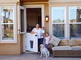 Exterior Pet Door Superior Outside Door With Doggie Door Built In Exterior Door With