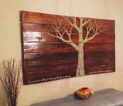 eco reclaimed pallet wood wall hanging the alternative consumer
