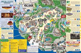 universal halloween horror nights map map of universal studios california you can see a map of many