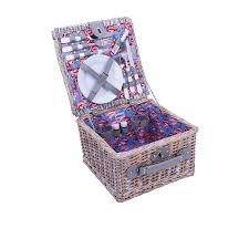 picnic basket for 2 avanti flamingo half willow 2 person picnic basket fast shipping