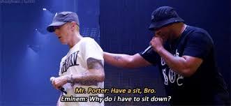 The Challenge Gif Rihanna Live Eminem Eminem Gifs The Tour