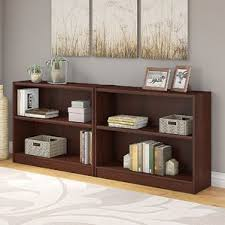 Small Two Shelf Bookcase Cherry Bookcases You U0027ll Love Wayfair