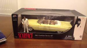 scarface cars 1 18 scale car collection featuring cadillac from scarface youtube