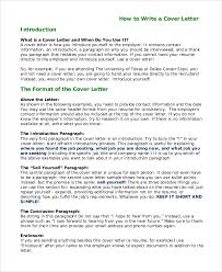introduction to a cover letter 28 images how to write a letter