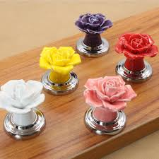 Kitchen Cabinet Knobs Ceramic Furniture India Picture More Detailed Picture About Ceramic Rose