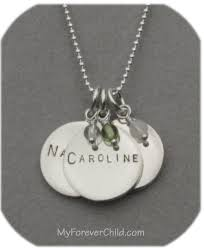 Children S Name Necklace My Forever Child