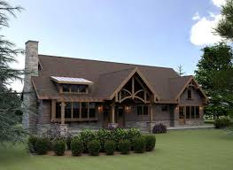 hillside cabin plans mountain lodge style house plans hillside cabin or vacation home