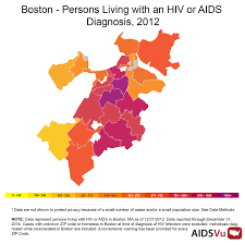 Suffolk County Massachusetts Maps And Public Health Project Shows Prevalence Of Aids In Boston