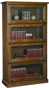 Barrister Bookshelves by Barristers Bookcase Solid Wood Furniture Woodcraft