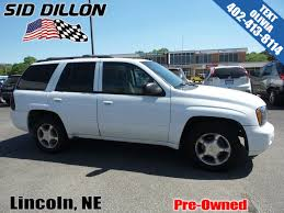pre owned 2006 chevrolet trailblazer lt suv in lincoln 4u5303b