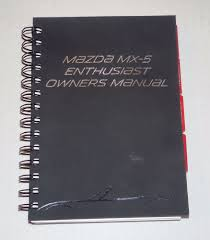 100 2009 mazda miata owners manual used mazda other parts