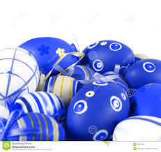 blue easter eggs blue easter eggs stock photo image 2597530