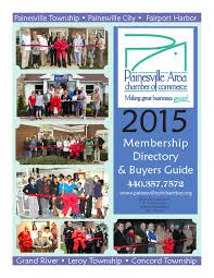 2015 painesville area chamber of commerce membership directory by