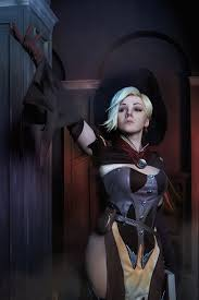 witch costume makeup ideas mercy witch overwatch halloween cosplay costume mercy cosplay by
