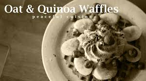 cuisine quinoa no how to oat quinoa waffles