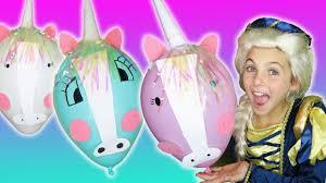 diy unicorn balloon craft for kids kids art tutorial superhero