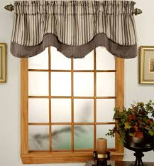 Chocolate Curtains With Valance Top Your Windows With Valances U2013 Altmeyer U0027s Bedbathhome Blog