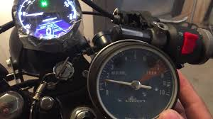 ebay motorcycle gauge honda mt250 elsinore youtube