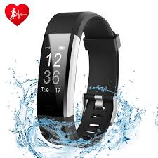 bracelet iphone sleep images Fitness tracker watch ginsy activity tracker with heart rate jpg