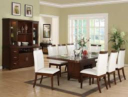 rectangle pedestal table foter dining room solid wood round dual