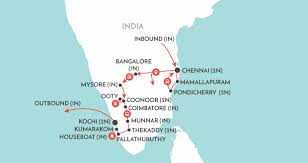 Kerala India Map by Kerala U0026 Southern Highlights India Tour Wendy Wu Tours