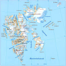 Russia Physical Map Physical Map by Svalbard Physical Map Svalbard Norway U2022 Mappery