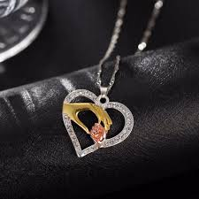 2017 new mother and child pendant gift for mom golden mom
