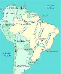 map of brazil map of brazil