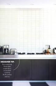 subway tile in kitchen backsplash kitchen backsplash ideas modern white kitchens brick patterns