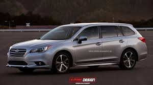 subaru station wagon subaru u0027s 2015 legacy and wrx rendered as wagons