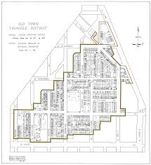 old town triangle association maps