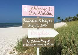 gold wedding decor welcome wedding sign starfish gold