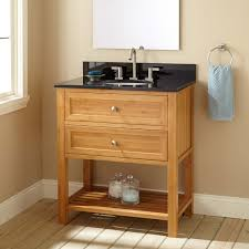 Bamboo Bathroom Furniture 30 Narrow Depth Taren Bamboo Vanity For Undermount Sink Bathroom