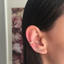 diamond ear cuff diamond ear cuff zoe lev jewelry