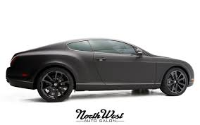 matte bentley project exodus matte black bentley supersports wrap northwest