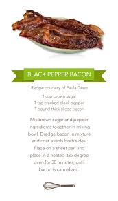recipe for paula deen s family kitchen s black pepper bacon