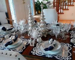 Christmas Table Decoration Ideas Blue Silver by 64 Best Silver Christmas Decorations Images On Pinterest Silver