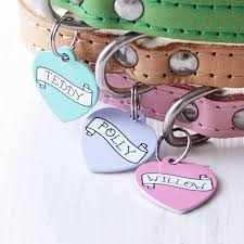 name and i d tags for pets notonthehighstreet com