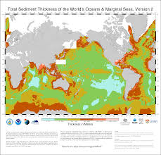 Ocean Depth Map Version 2 Total Sediment Thickness Of The World U0027s Oceans And