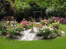 garden small backyard ideas flowers decor simple backyard design