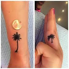 palm tree tattoos done by yelp tiny tat s