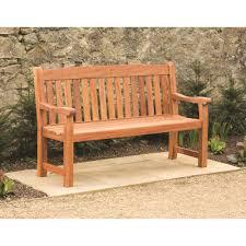 Hardwood Garden Benches Suntime Balmoral 3 Seat Hardwood Garden Bench Benches Topline Ie