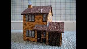 paper model of the number 4 privet drive little whinging surrey paper model of the number 4 privet drive little whinging surrey house harry potter youtube