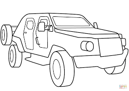 military armored scout car coloring page free printable coloring