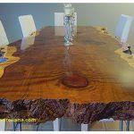 Redwood Dining Table Redwood Kitchen Table Inspirational Rustic Dining Tables Live Edge