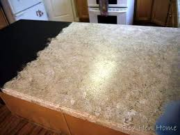 How To Paint Kitchen Countertops by Remodelaholic Countertop Makeover With Giani Granite Paint