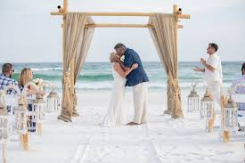 wedding arbor used destin wedding packages